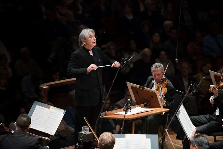 Michael Tilson Thomas leads the San Francisco Symphony in Copland's Symphony No. 3, 3/15/18