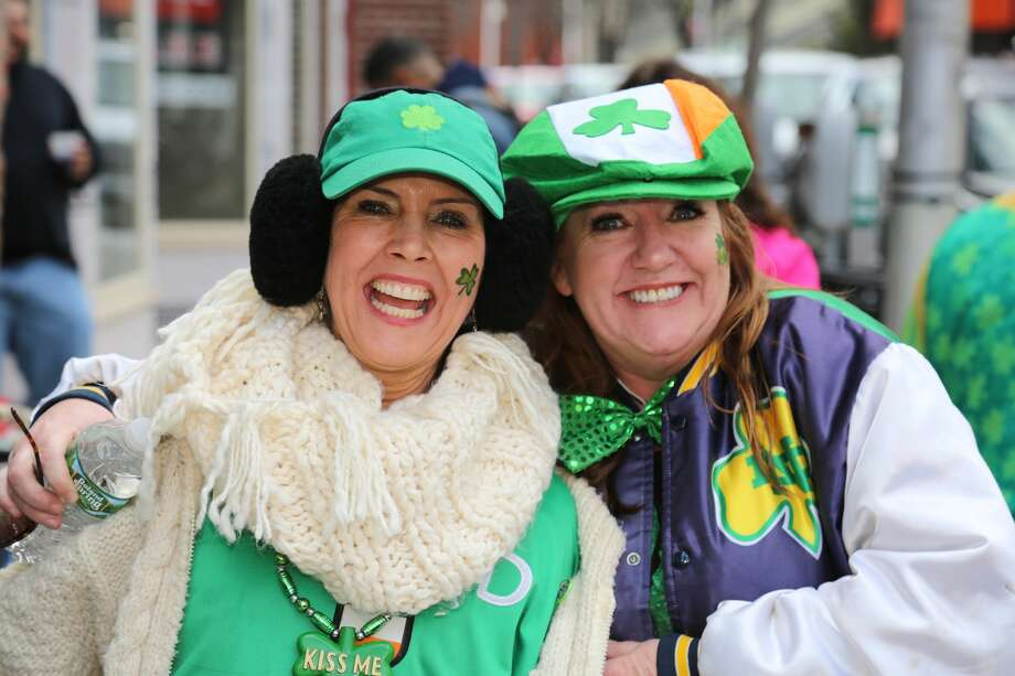 Bridgeport held its 36th annual St. Patrick's Day parade n March 16, 2018. Marchers traveled through downtown Bridgeport, beginning at Harbor Yard, continuing up Broad Street to Fairfield Avenue and then back to Harbor Yard. Were you SEEN? Photo: Derek Sterling/Hearst CT Media