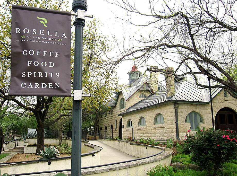 The new Rosella at The Garden restaurant and bar occupies the Sullivan Carriage House at the San Antonio Botanical Garden. Photo: Mike Sutter / San Antonio Express-News