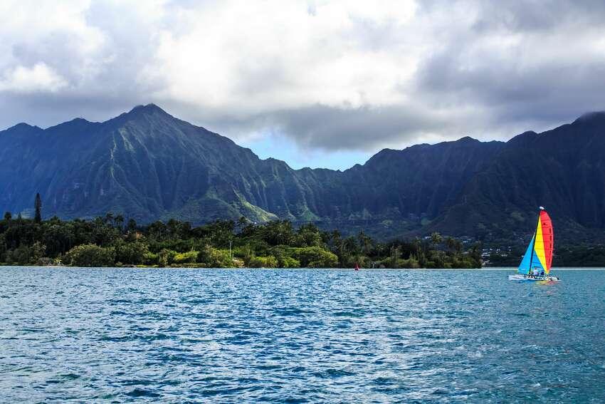 Trending destination searches out of SFO, OAK and SJC Destination: Kailua-Kona, Hawaii Airport: OAK Percent increase: 878 percent up since 2018 Median Price: 402 dollars