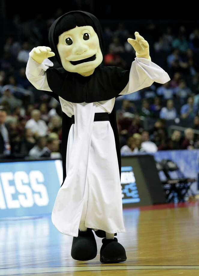 CHARLOTTE, NC - MARCH 16:  The Providence Friar walks the floor during a timeout against the Texas A&M Aggies during the first round of the 2018 NCAA Men's Basketball Tournament at Spectrum Center on March 16, 2018 in Charlotte, North Carolina. Photo: Streeter Lecka, Getty Images / 2018 Getty Images