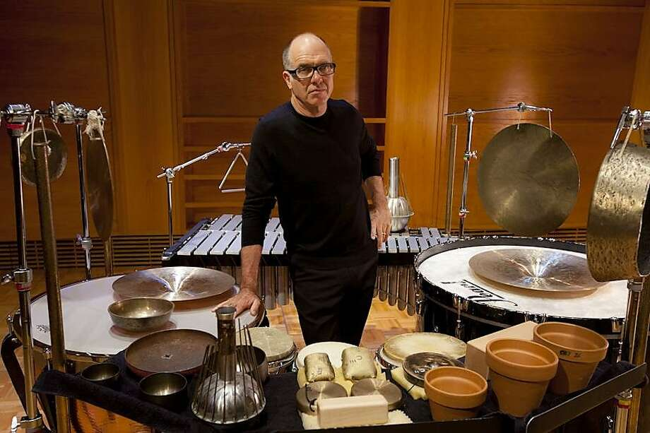 Percussionist and conductor Steven Schick is stepping down after an inventive seven-year tenure as artistic director for the San Francisco Contemporary Music Players. Photo: Bill Dean