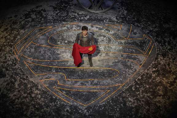 "Cameron Cuffe plays Seg-El — Superman's grandfather — in the new SyFy series ""Krypton."""
