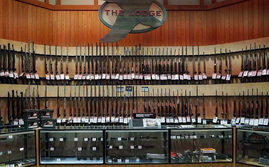 A spokeswoman for Dick's Sporting Goods told the Pittsburgh Gazette that the chain will destroy all of the firearms pulled from its shelves. Scroll ahead to see how Texas' gun laws have changed through history.  Photo: Olivier Douliery, TNS