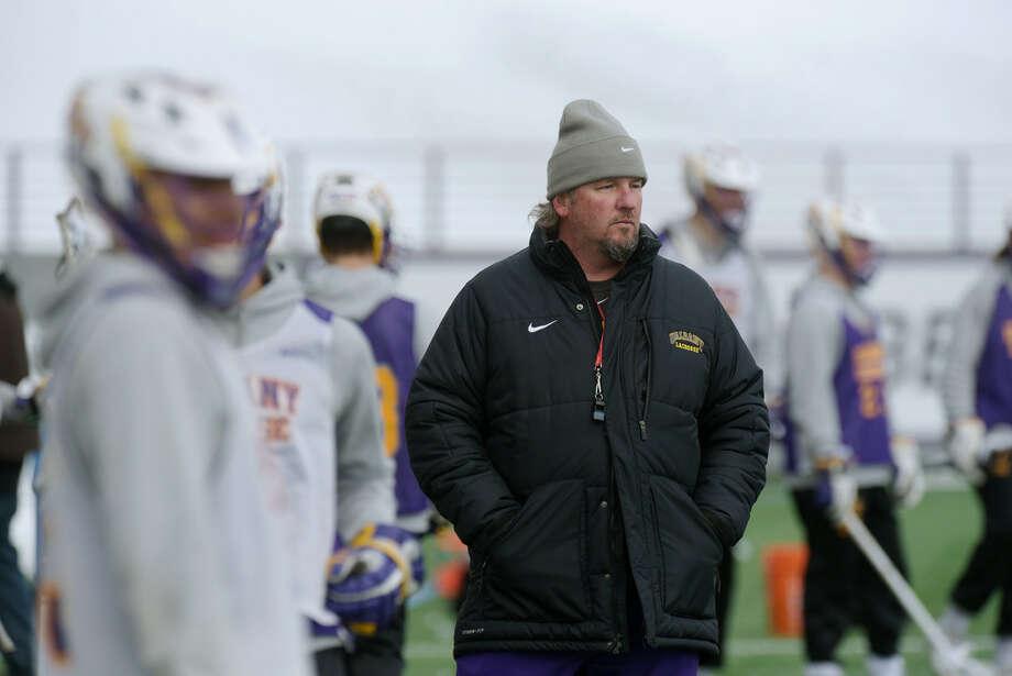 UAlbany men's lacrosse head coach Scott Marr said Vermont's success is good for the America East. (Paul Buckowski/Times Union)