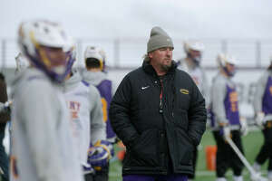 UAlbany men's lacrosse head coach Scott Marr said Vermont's success is good for the America East. (Paul Buckowski/Times Union)