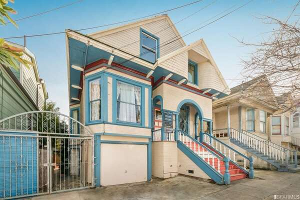 Here's a Bernal Heights home listed for $1.098M: but be aware of tenants' rights if you want to be its new owner.
