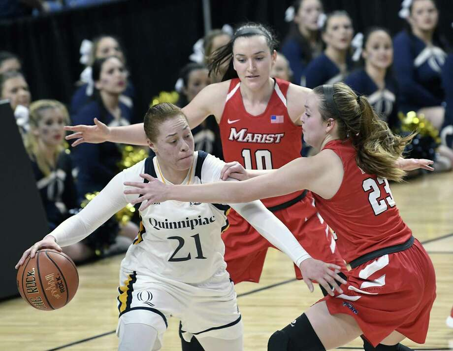 Quinnipiac's Jen Fay was a catalyst for the Bobcats during their postseason run last season. Photo: Associated Press File Photo / FR58980 AP