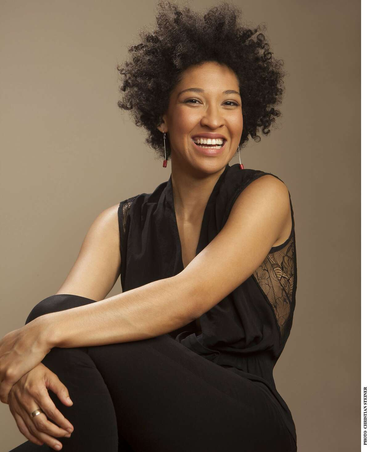 Soprano Julia Bullock, who will be performing a concert with pianist John Arida, for Cal Performances.