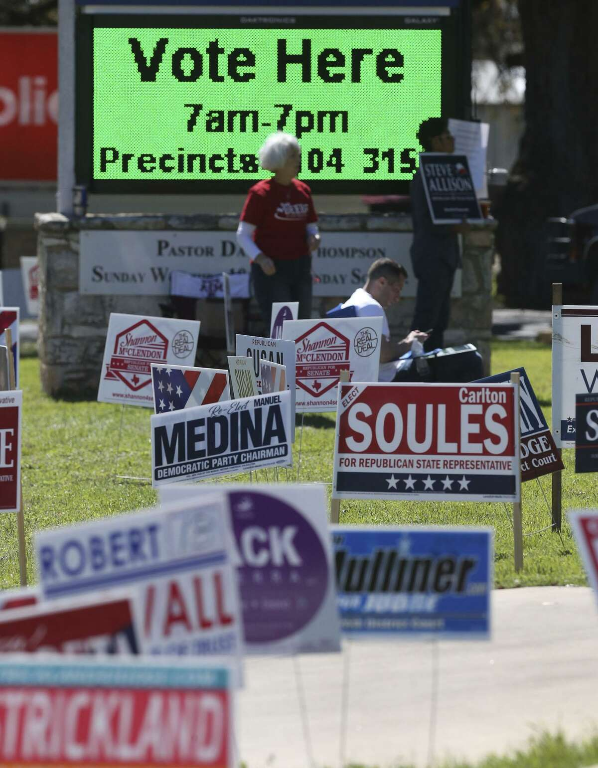 Some patterns can be gleaned from the turnout in the March 6 primary.