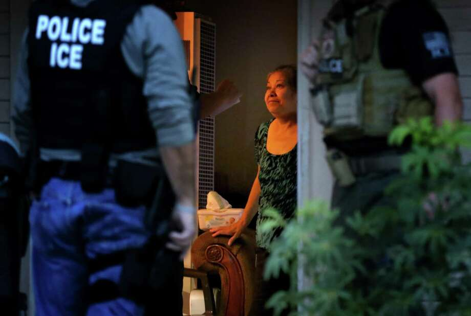 The people ICE seek are often are the ones who harvest, slaughter and cook the food of those who want them out of the United States. They clean houses and they watch children, and they will never quit struggling for a better life for themselves and their loved ones. Photo: Irfan Khan / Los Angeles Times / 2015 Los Angeles Times