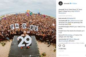 steveaoki: South Padre Island  Texas! Beach College Party Litty! #29of33 #kolonytour