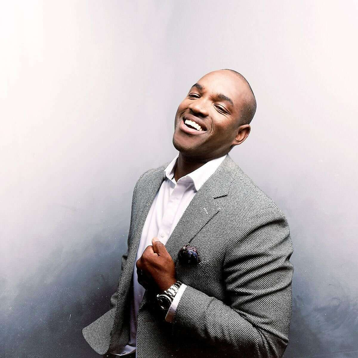Operatic tenor Lawrence Brownlee plays a concert for Cal Performances