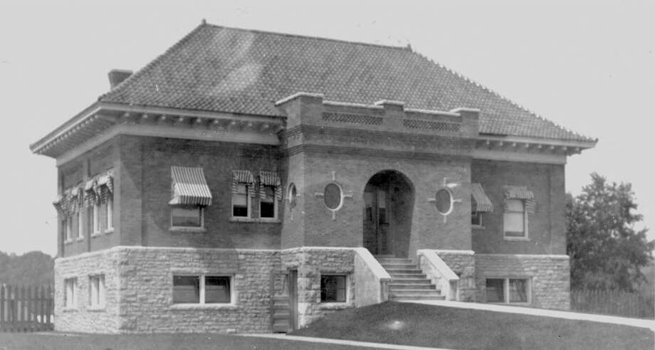Click through the slideshow to see a retrospective of Corinth photos that have appeared in the Times Union over the years. ...This is what a principal office of International Paper looked like in 1906. On Nov. 18, 2017, a sign was unveiled pointing to its designation on the National Register of Historic Places. (Provided)