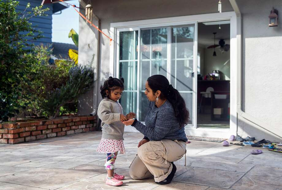Renuka Sivarajan opened a day care after receiving a work permit through a program for H-1B spouses started during the Obama administration. Photo: Jessica Christian, The Chronicle