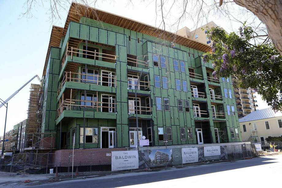 A city nonprofit is partnering with developer NRP Group to build the Baldwin at St. Paul Square apartments on the near East Side. Photo: John Davenport /San Antonio Express-News / ©John Davenport/San Antonio Express-News