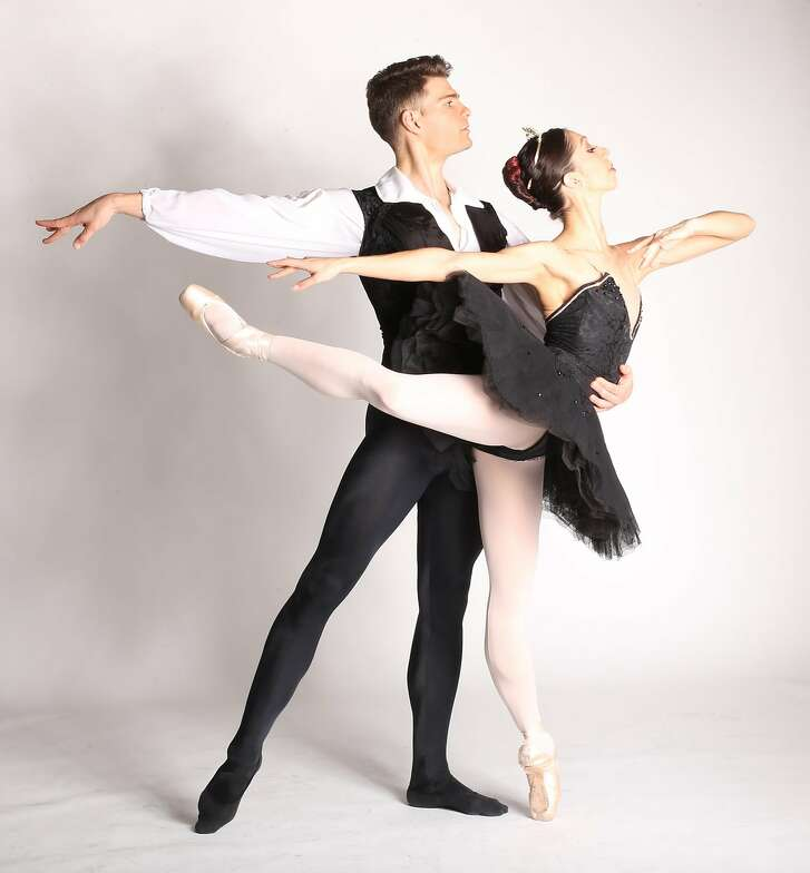 Diablo Ballet celebrates its 24th anniversary on Thursday, March 22 with a performance and gala in Walnut Creek. Pictured: Raymond Tilton and Amanda Farris  Photo: Aris Bernales