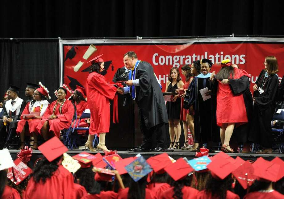 Central High School Graduation at the Webster Bank Arena in Bridgeport, Conn. on Tuesday, June 20, 2017. Photo: Brian A. Pounds / Hearst Connecticut Media / Connecticut Post