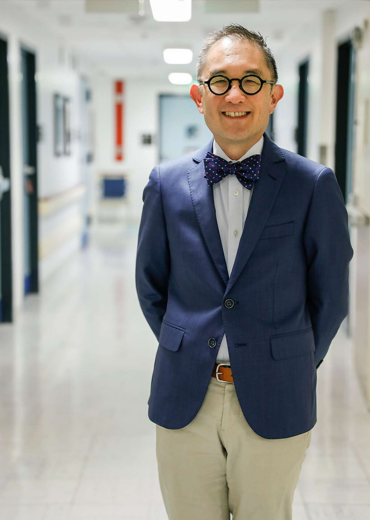 Dr. Kewchang Lee is seen at the VA Medical Center on Friday, March 16, 2018 in San Francisco, Calif. Dr. Lee is part of a study in the VA system examining whether doctors gaining knowledge of patients' genetic composition can help shape better, more precise treatment plans for depression.