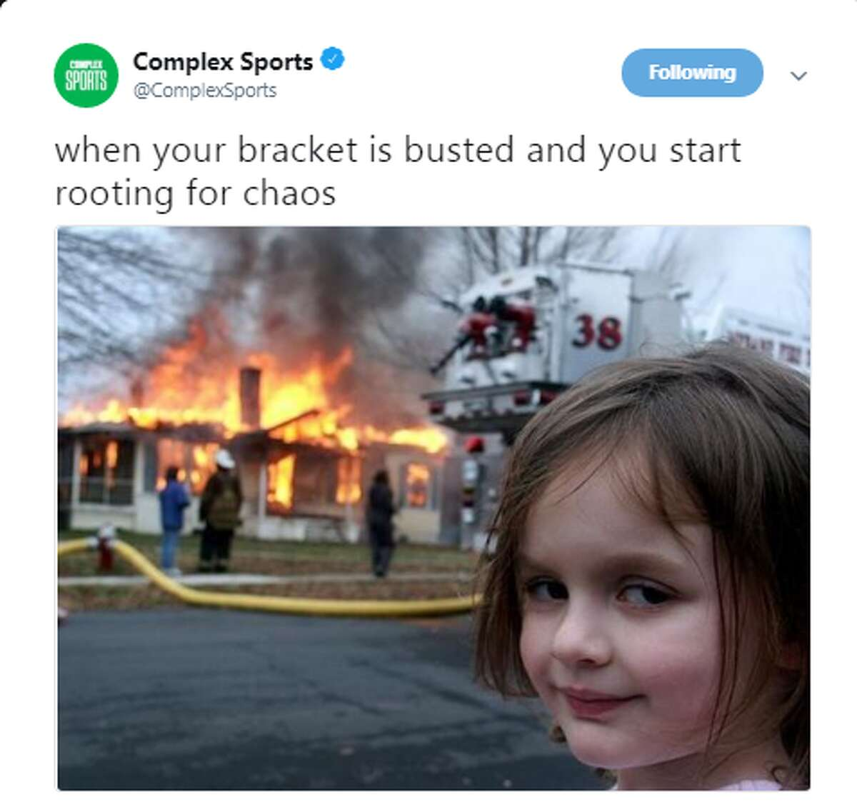 Source: Twitter Browse through the photos for the best memes from Friday night's slate of games.