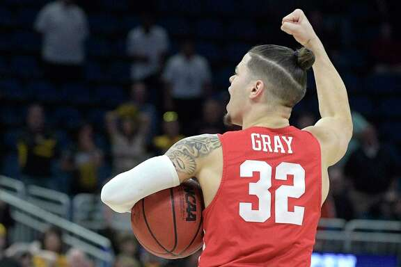 Houston guard Rob Gray scored a career-high 39 points, including the game-winner as the clock was expiring, in the Cougars' NCAA first-round win over San Diego State on Thursday.