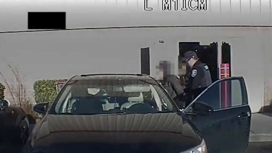 Police: 3 arrested after attempting to steal laptops, vaccums from SoDo Costco. (Screen shot from Seattle Police Department video) Photo: KOMO News