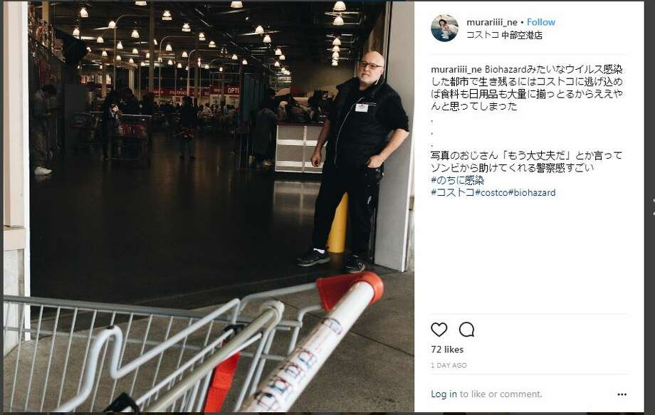 What shopping at Costco in Japan is like. Photo: Instagram