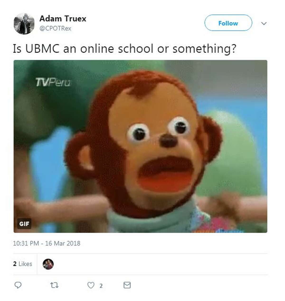 Is UBMC an online school or something?
