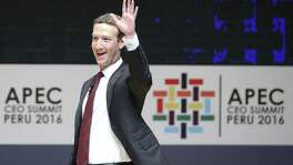 "Facebook CEO Mark Zuckerberg. A new report alleges Facebook has a ""rat-catching team"" that spies on employees."
