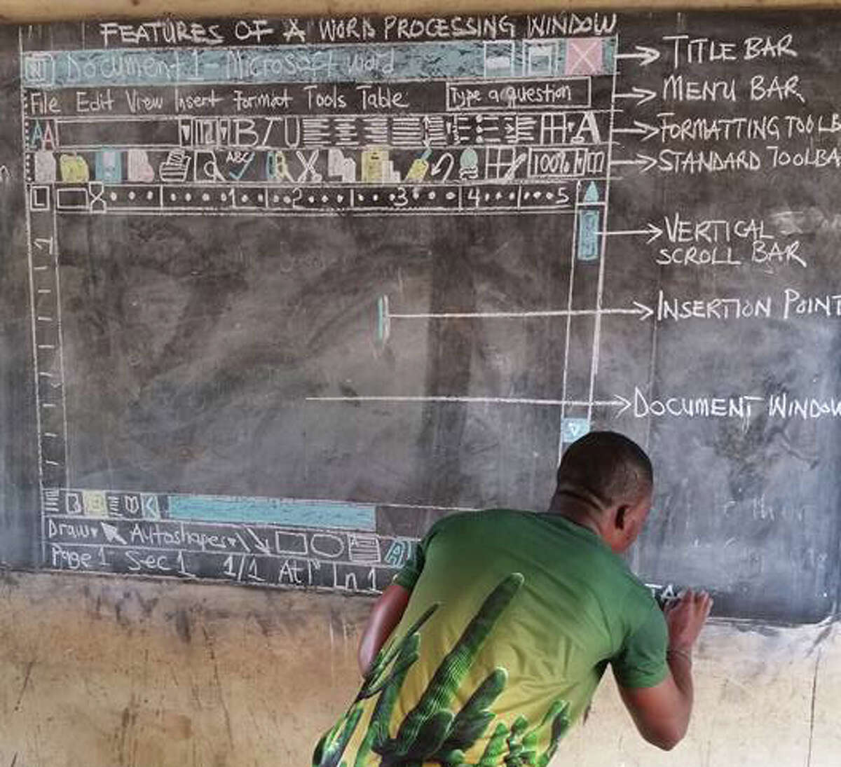 Richard Appiah Akoto teaches information and communication technology in Ghana.