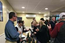 Attendees at Thursday evening's Pigeon Rotary Wine Tasting event got to check out the newly-renovated former VFW Hall. (Renee Golder/Huron Daily Tribune)