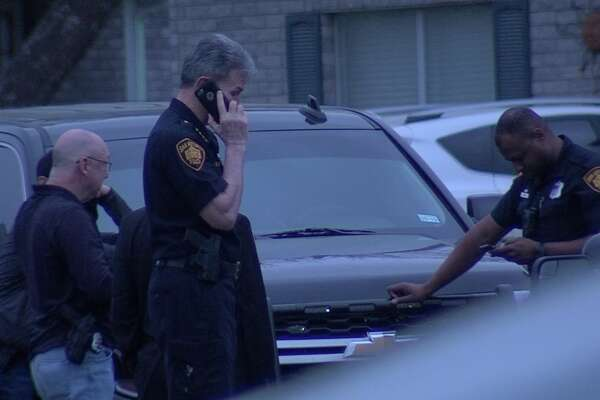 San Antonio police say one man is in custody following the discovery of two deceased females Saturday morning, March 17, 2018, at a residence in the 9100 block of Beaudine.