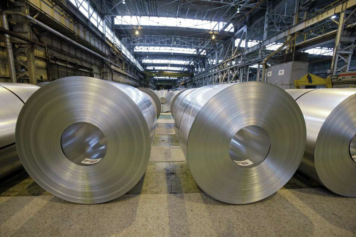 President Donald Trump's tariffs are expected to raise prices for steel and aluminum in this country. That will help domestic producers, but it will also raise prices for businesses that need steel. (AP Photo/Mark Duncan, File)