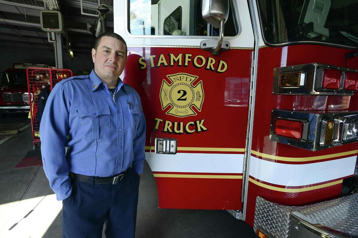 Lt. Ted Stanek, of the Stamford Fire Department, says new treatment helps firefighters better deal with trauma they face on the job.