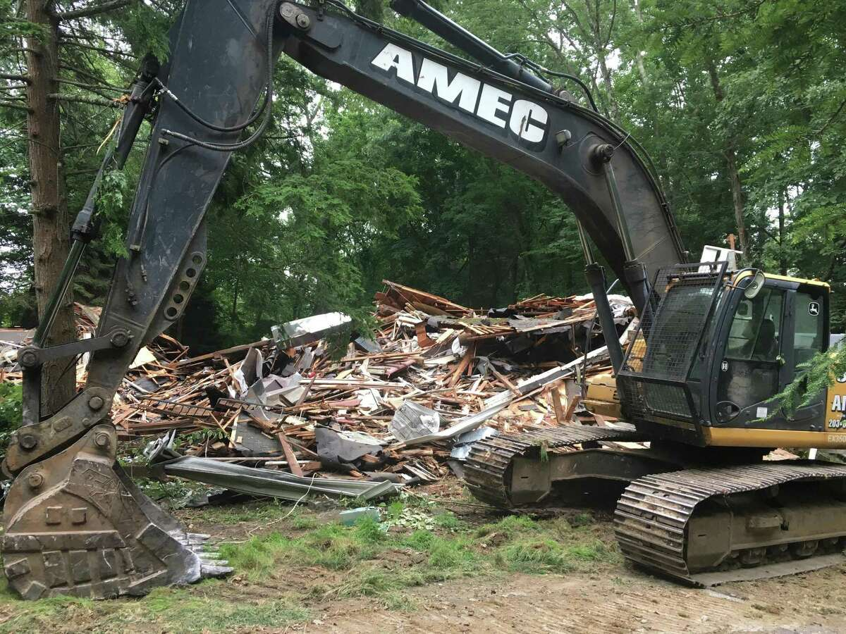 The historic White Barn Theater in Norwalk was demolished last July.