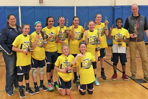 The Wilton Youth Basketball 6th grade girls team won its second straight Fairfield County Basketball League championship last weekend.