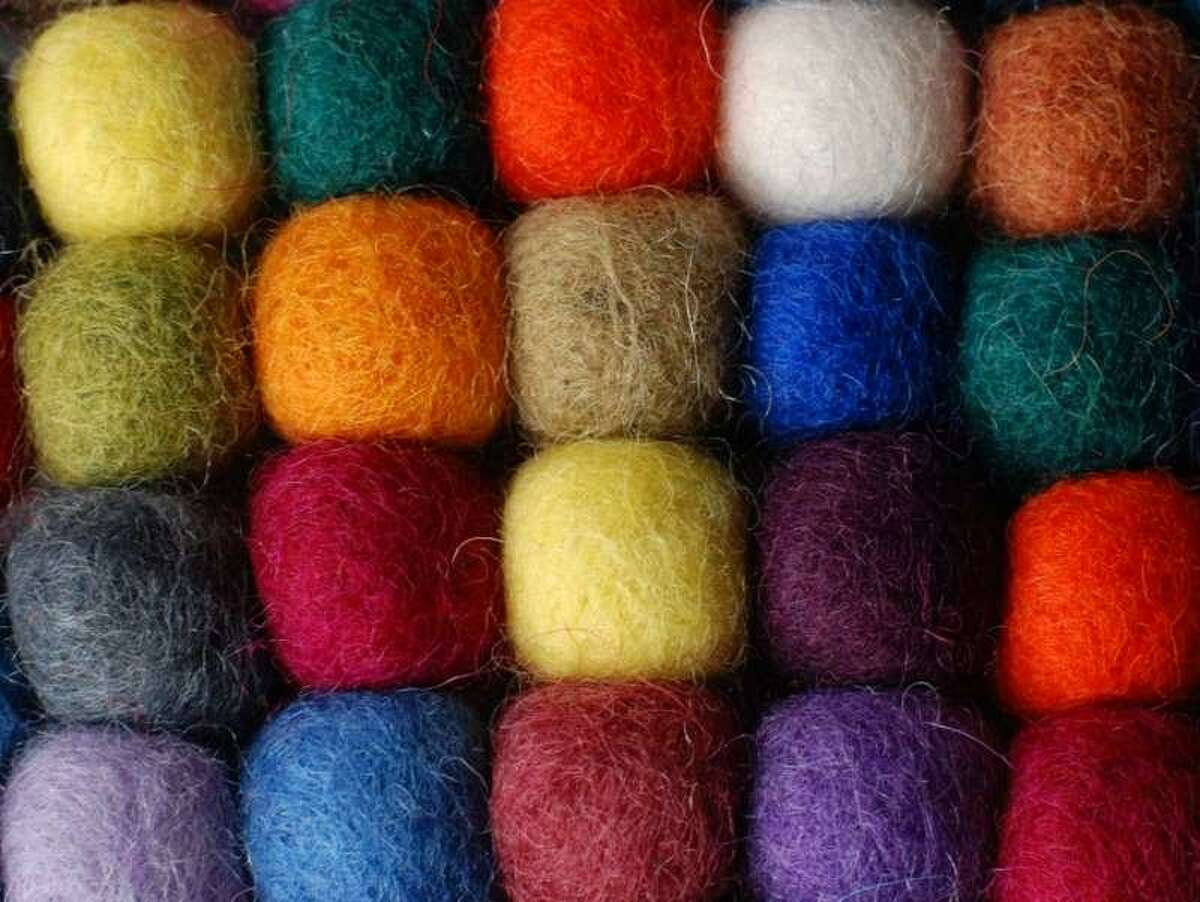 From 11 a.m. to 12:30 p.m. on Saturday, April 7 at the Wilton Historical Society, museum educator Lola Chen will introduce kids to needle felting.