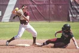 Second baseman Avianna Galvan had TAMIU's only RBI Saturday in a 3-1 loss in eight innings to the Eagles.