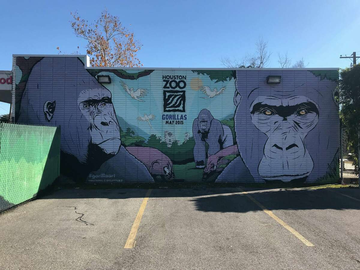 A sneak peek of the progress being made on Houston's new Pride Wall, which was brought to fruition after the original one created to commemorate the victims of the Pulse Nightclub shooting was painted over.