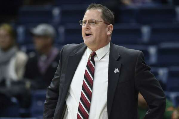 "St. Francis coach Joe Haigh said, ""Nobody else in the world stopped (UConn), so we were going to try to outscore them"" in Saturday's first-round NCAA Tournament game."