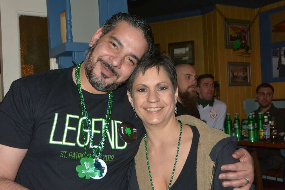 Tigin Irish Pub in Stamford held an all-day St. Patrick's Day outdoor block party in downtown Stamford on March 17, 2018. Tigin shut down the area behind the pub to bring in live bands and outdoor bars. Were you SEEN partying? Photo: Vic Eng / Hearst Connecticut Media Group