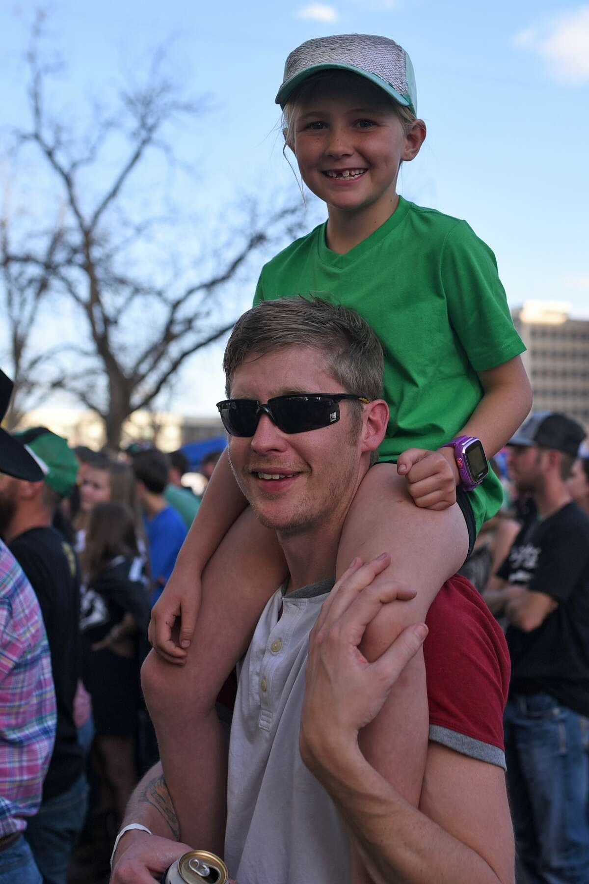 Patrick's Day Music Fest hosted by Mac's Bar-B-Q March 17, 2018, in downtown Midland. James Durbin/Reporter-Telegram