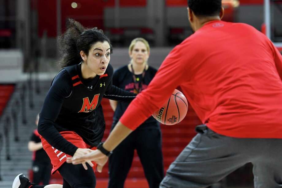 Eleanna Christinaki had offers to play professionally in her native Greece, but she transferred to Maryland and has become a key piece. Must credit: Washington Post photo by Katherine Frey Photo: Katherine Frey, The Washington Post / The Washington Post