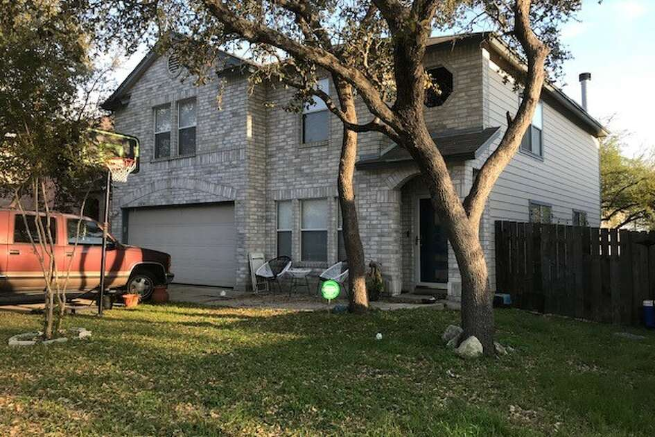 Bexar County Sheriff's Office deputies say 11 people were arrested Friday, March 17, 2018, at this residence and charged with cruelty to livestock animals in what BSCO called a possible animal sacrifice.