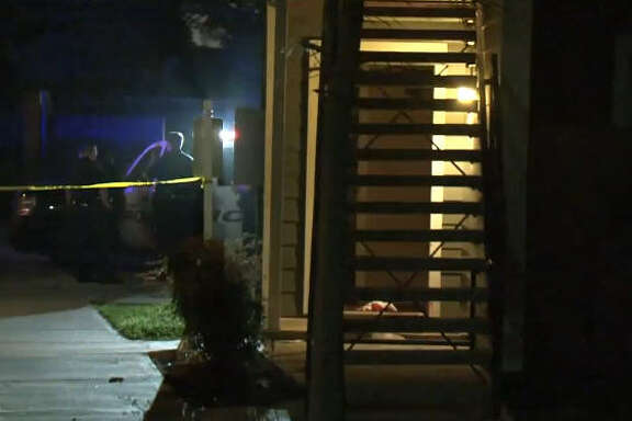 One person was fatally shot overnight outside a southwest Houston apartment complex.  One person was fatally shot overnight outside a southwest Houston apartment complex.