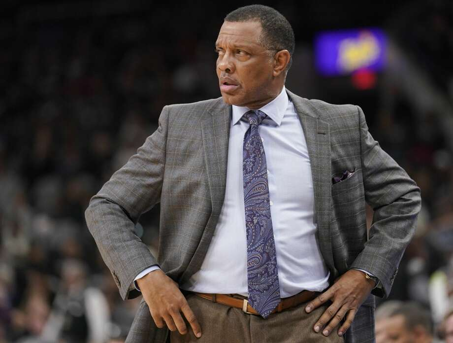 New Orleans Pelicans head coach Alvin Gentry watches play during the second half of an NBA basketball game against the San Antonio Spurs, Thursday, March 15, 2018, in San Antonio. (AP Photo/Darren Abate) Photo: Darren Abate/Associated Press