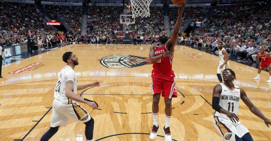 The Rockets defeated the Pelicans on Saturday night in New Orleans. Photo: Gerald Herbert/Associated Press