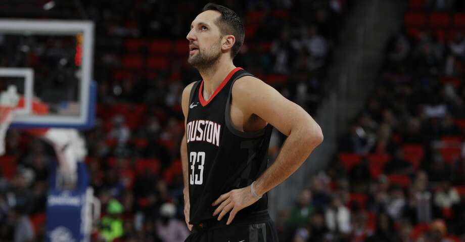 Houston Rockets forward Ryan Anderson (33) during the second half of an NBA basketball game against the Detroit Pistons, Saturday, Jan. 6, 2018, in Detroit. (AP Photo/Carlos Osorio) Photo: Carlos Osorio/Associated Press