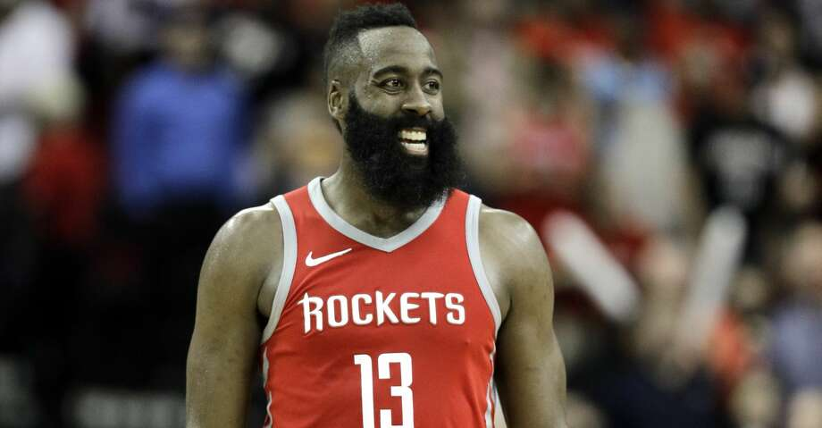 HOUSTON'S HIGHEST-PAID PROFESSIONAL ATHLETES1. James Harden, Rockets$42.3 million per year(Four-year, $169.3 million contract extension through 2020-21) Photo: David J. Phillip/Associated Press