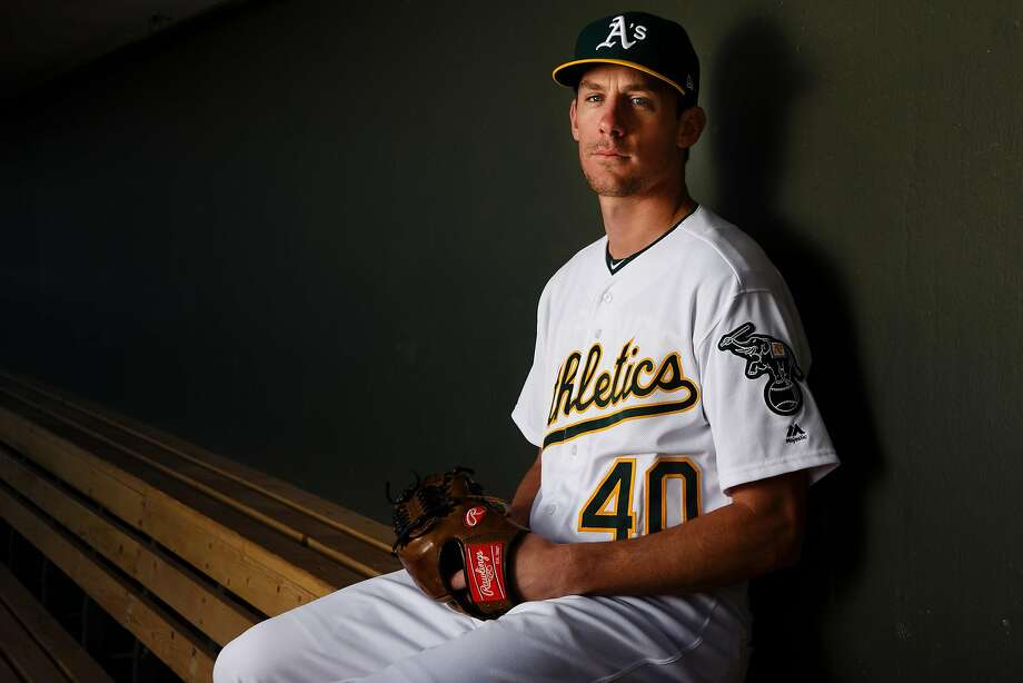 MESA, AZ - FEBRUARY 22: Chris Bassitt #40 of the Oakland Athletics poses for a portrait during photo day at HoHoKam Stadium on February 22, 2018 in Mesa, Arizona. (Photo by Justin Edmonds/Getty Images) Photo: Justin Edmonds, Getty Images